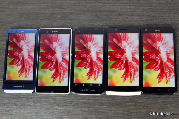 Perbandingan Layar Full HD HTC Butterfly vs Oppo Find 5 vs Sony Xperia Z www.idhandphone.com