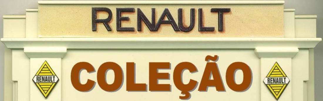 Coleção Miniaturas RENAULT Miniatures