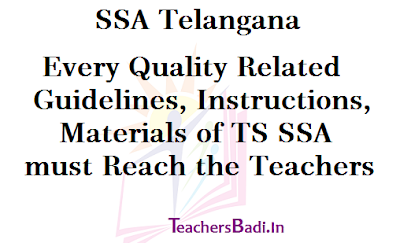 Every Quality Related Guidelines, Materials, Teachers