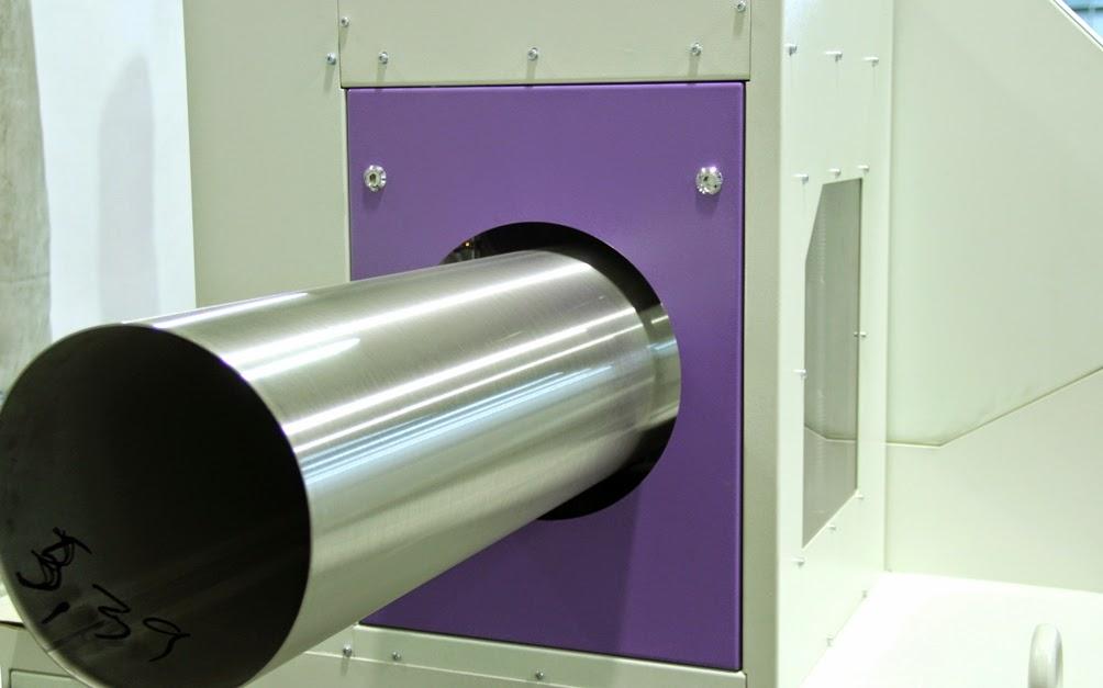 Stainless steel tube polishing machine