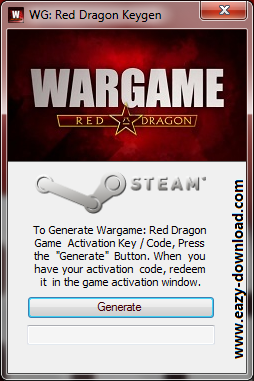 WarGame: Red Dragon Code Generator