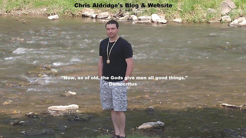 Chris Aldridge's Blog & Website