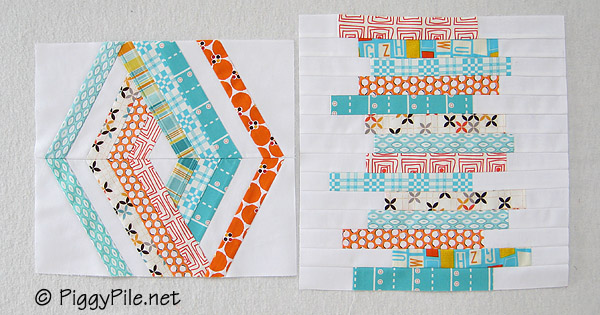 Line Art Quilt Pattern Holly Hickman : Piggy pile design challenge horizontal