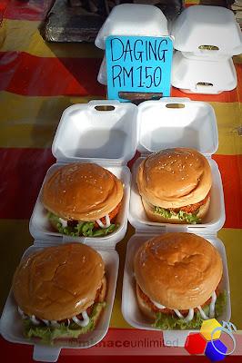 mknace unlimited™ | Gerai Burger Pasar Malam Nusa Perintis