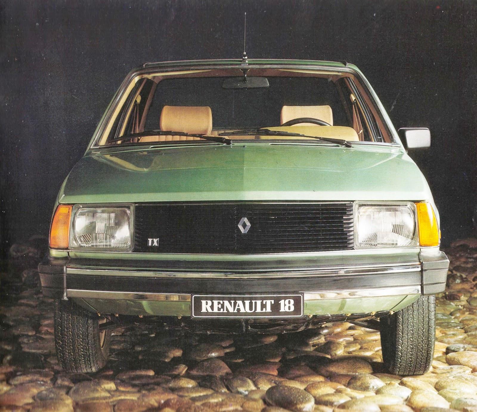 Archivo de autos renault 18 tx la respuesta a los importados for Pateres originales