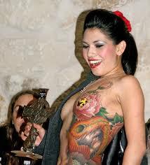 Vagina tattoo video