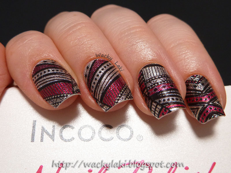 Wacky Laki: Incoco Tribal Dance Nail Polish Strips