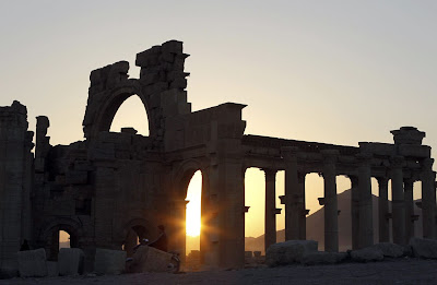 Syria's ancient Palmyra threatened in fighting