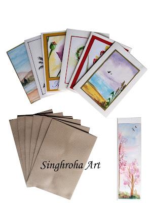 collection,notecards,set,envelopes,bookmark,setof6,stationery,stationary