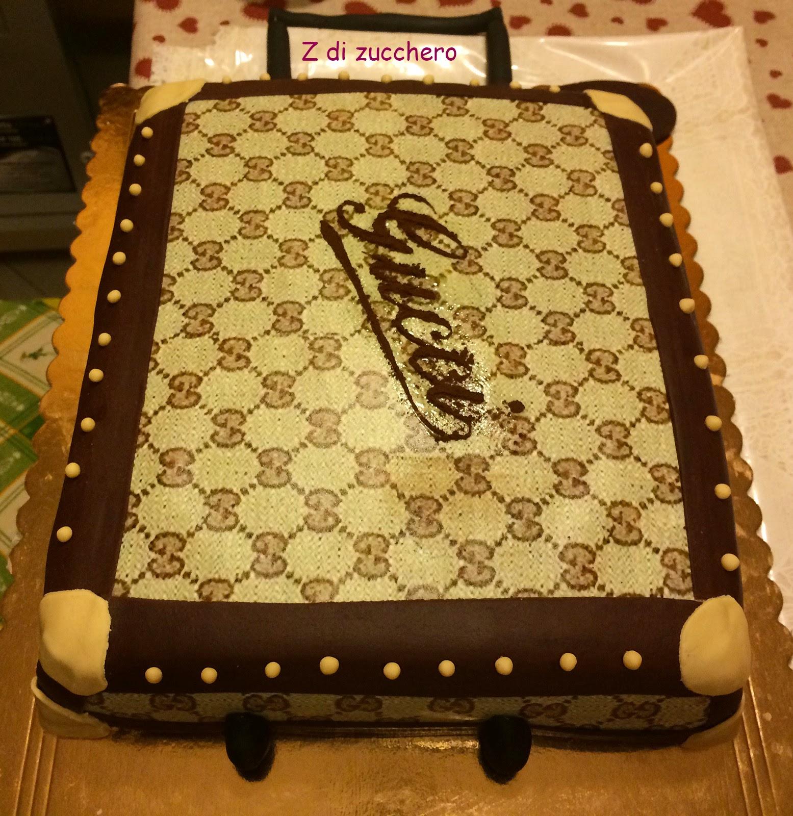 Torta trolley Gucci