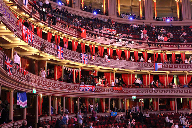Last Night of the Proms 2015 at the Royal Albert Hall, London