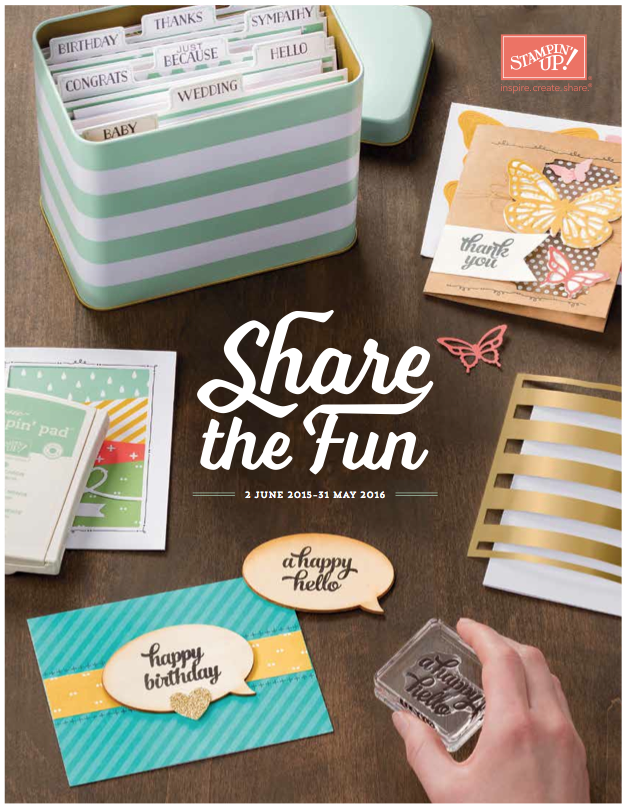 Stampin' Up! 2015-2016 Annual Catalogue