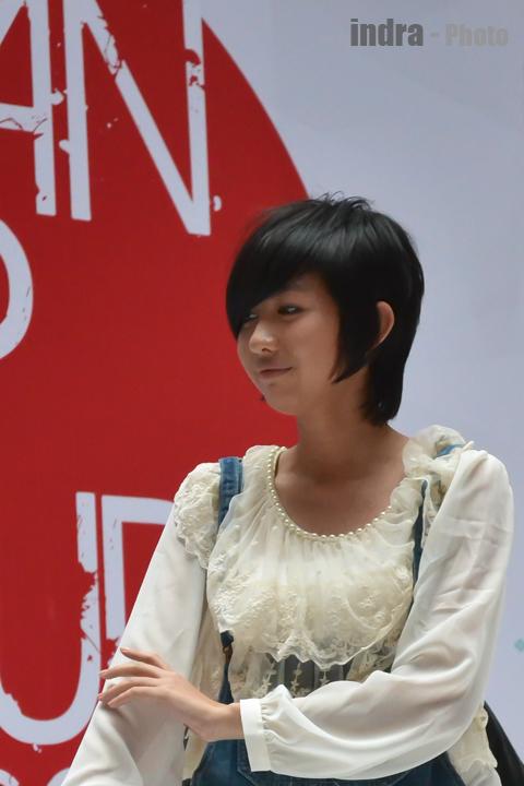 After hair styling : Ghaida JKT48