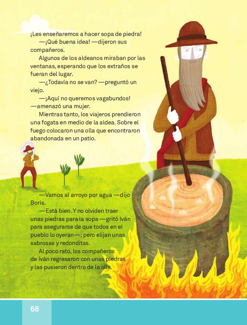 La sopa de piedra - Español Lecturas 3ro 2014-2015
