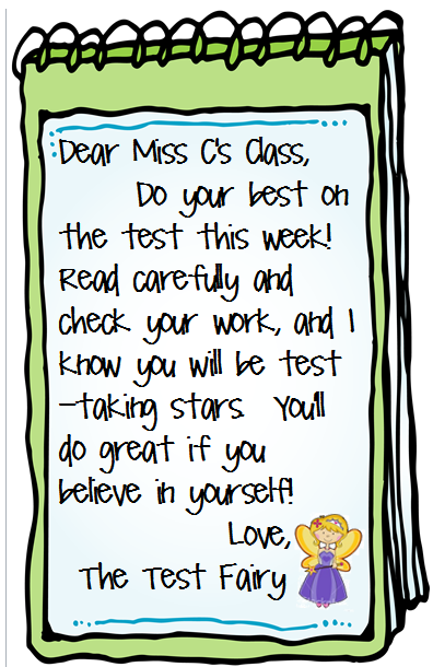 The Polka-dotted Teacher: Back to Testing Preparations
