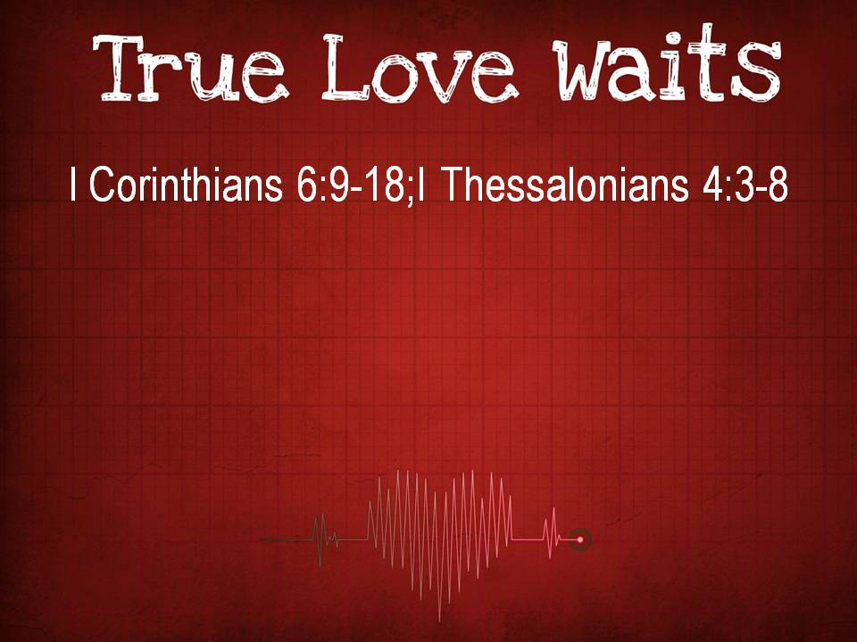 heart that truly loves is the heart that truly waits...