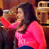 """Mindy's PJ Salvage 'Love' Sweater The Mindy Project  Season 3  Episode 1: """"We're A Couple Now, Bitches"""""""