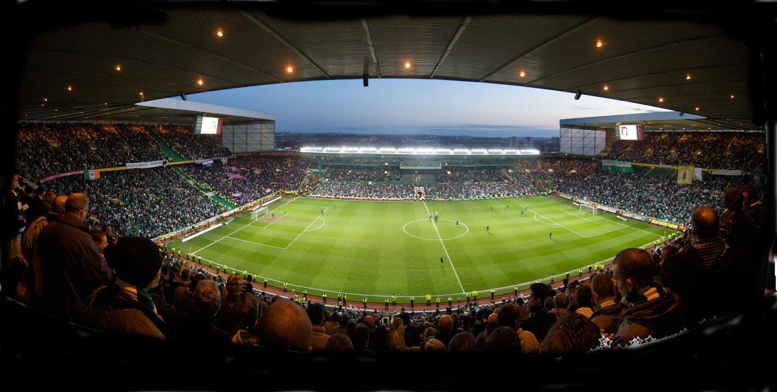 Celtic Park interno Glasgow