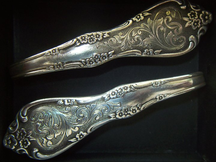 Rodeo tales gypsy trails spoon rings silverware jewelry - Handmade gs silverware ...