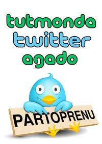 Tutmonda Twitter Agado - twitaço em homenagem ao aniversário do Esperanto