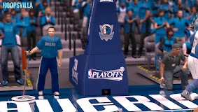 NBA 2k14 Stadium Mod : Playoff Edition - Dallas Mavericks - American Airlines Center