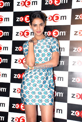 Neil and Sonal Chauhan at '3G' visit Zoom studio