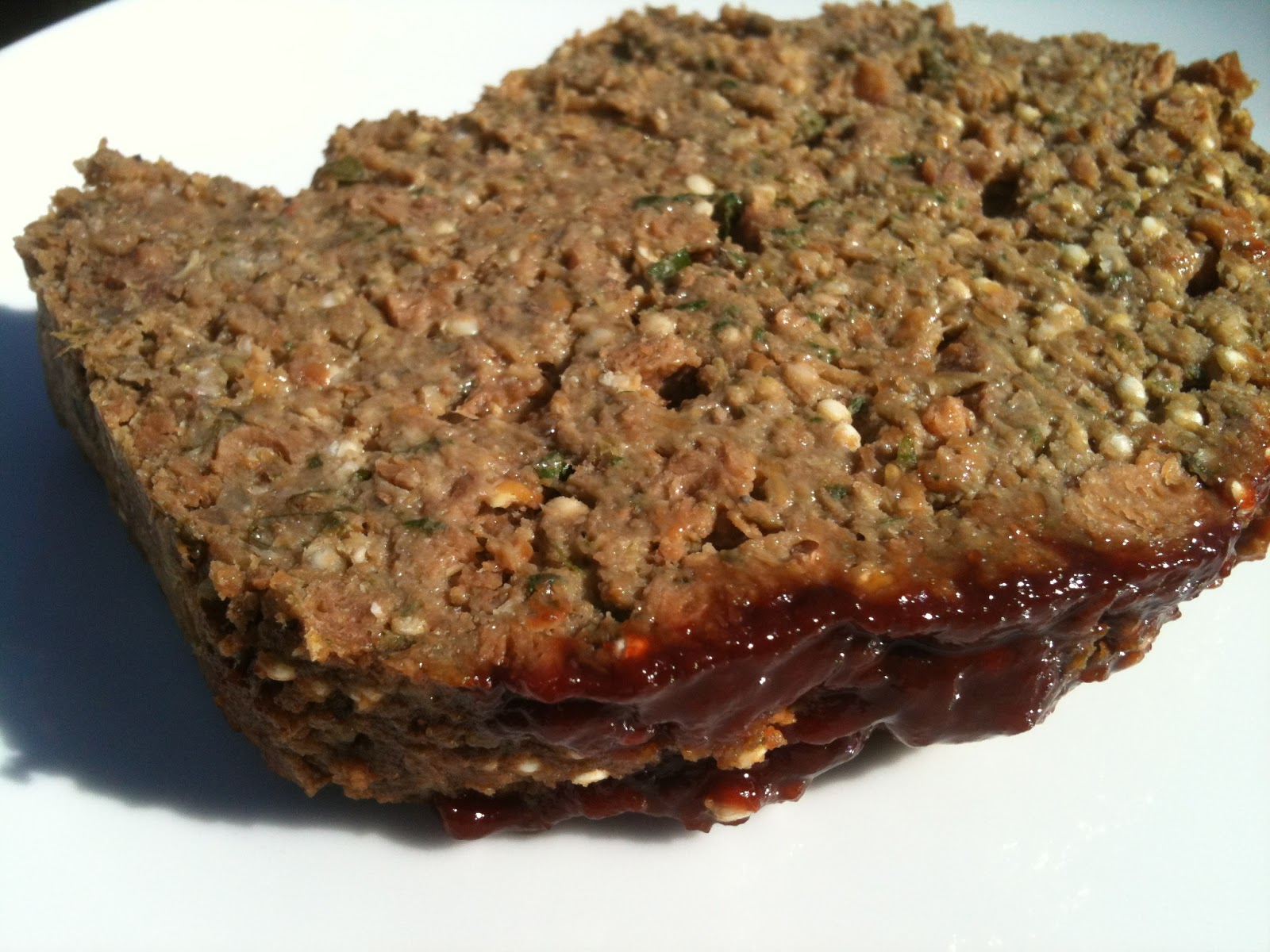 Vegan Spinach, Quinoa and lentil loaf (don't tell the meat-eaters ...