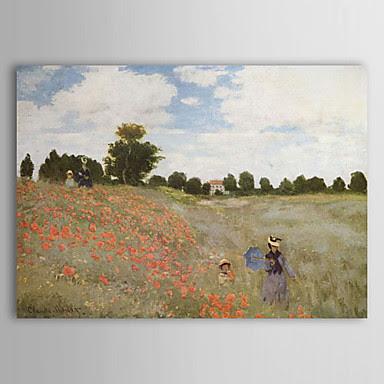 Campo de amapolas en Argenteuil Claude Monet