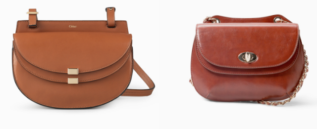 Clon fashion bolso Georgia de Chloé vs. Mango