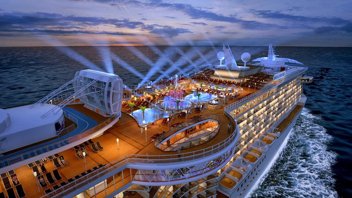 Luxury life design top five in the world of luxury cruising for Best cruise lines in the world