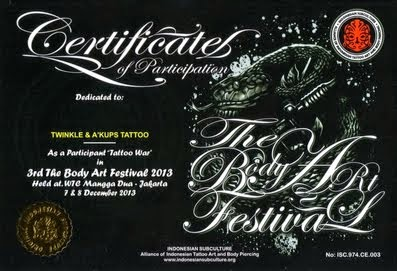INDONESIAN SUBCULTURE Tattoo Fest 2013