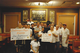 Selama Bulan September Polisi Boleh Makan Pizza Gratis Di Gerai