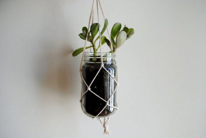 Botol bekas seperti ini bisa juga dijadikan sebagai pot tanaman untuk di  rumah. Dengan cara digantung seperti pada gambar bisa untuk dijadikan  sebagai ... 6ce720308f