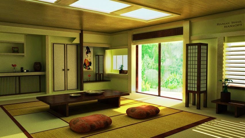 Japanese Interior Wall Painting Ideas