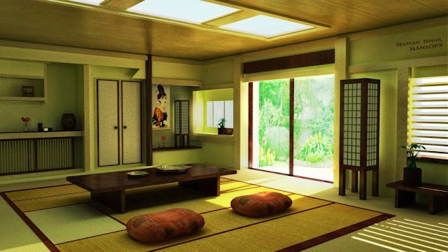 Japanese Interior Wall Painting Ideas