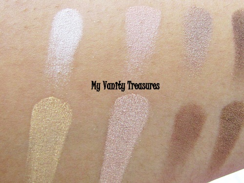 theBalm Nude Tude Eyeshadow Swatches