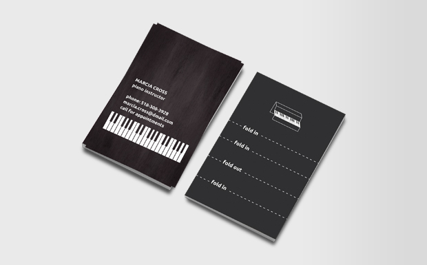 Good Company Business Cards For Pianist Summer 2011