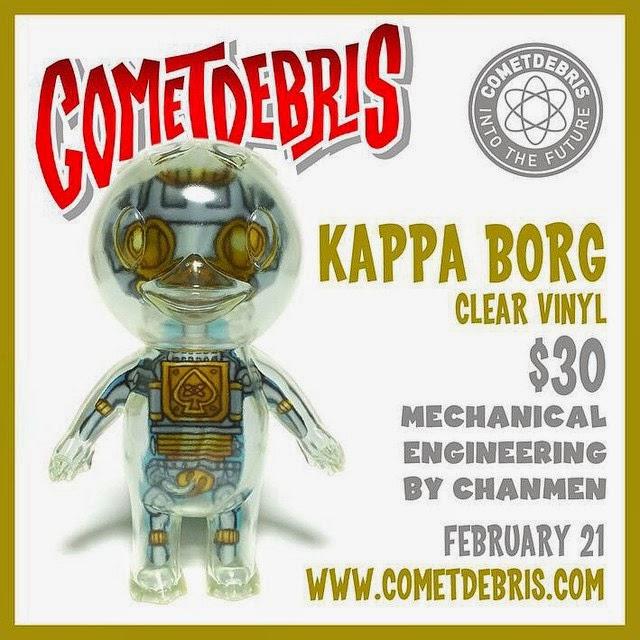 Kappa Borg Vinyl Figure by Cometdebris