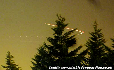 UFOs Over Wimbledon 1-30-15