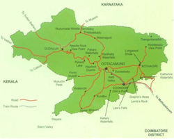 Map of Coonoor