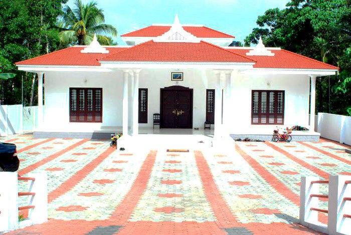 Dream Elevations Beautiful Single Floor Kerala Style Home