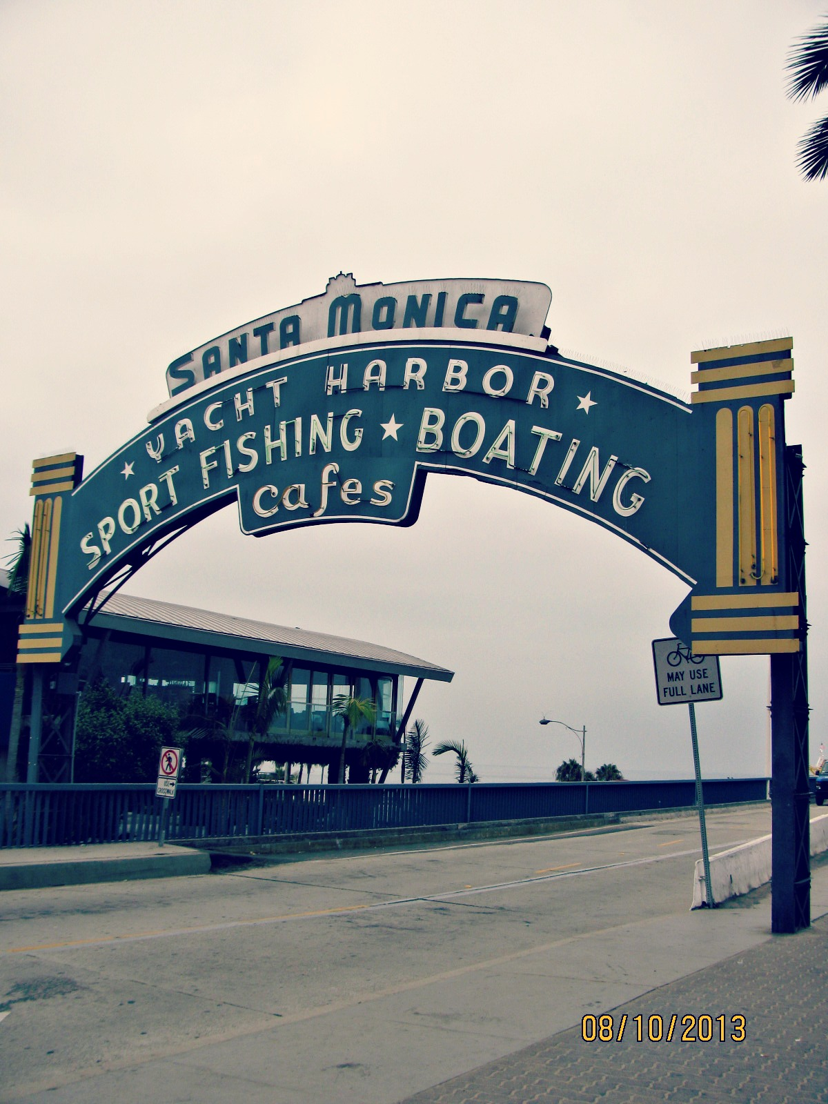 Santa Monica Biking // Boardwalk Sign