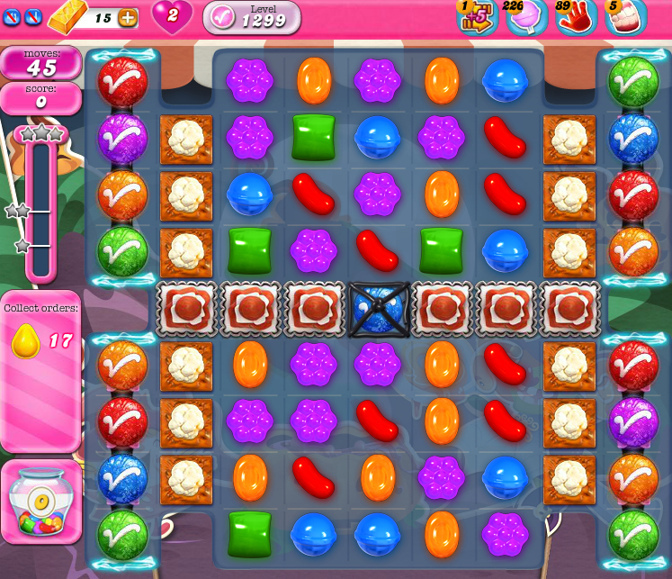 Candy Crush Saga 1299