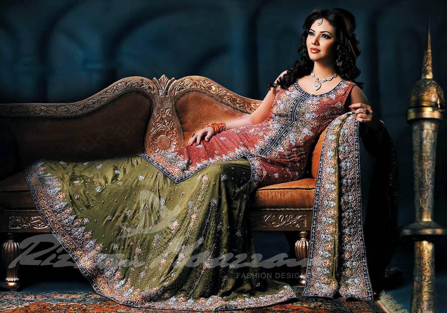 Latest Pakistani Wedding Dresses 2013 Hairstyle Fashion Style Home Design