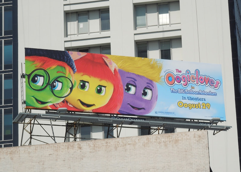 Oogieloves Balloon Adventure billboard