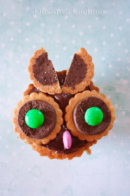 muffiny sowy muffinki sowy, sówki muffiny, babeczki sowy, muffins owl
