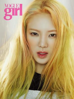 Hyoyeon - Vogue Magazine April Issue 2015