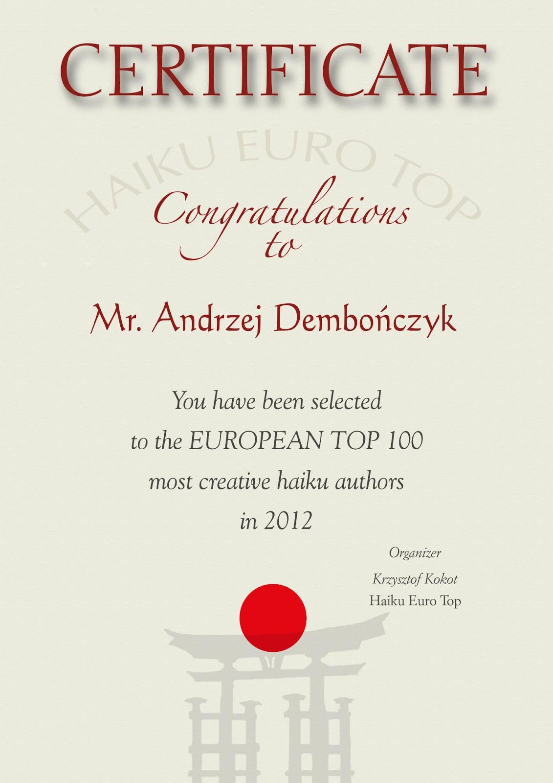 Euro Top - 2012