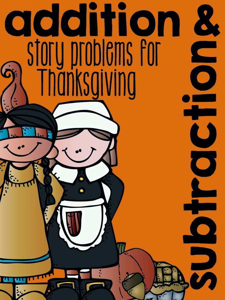 http://www.teacherspayteachers.com/Product/Addition-and-Subtraction-Story-Problems-for-Thanksgiving-1546265