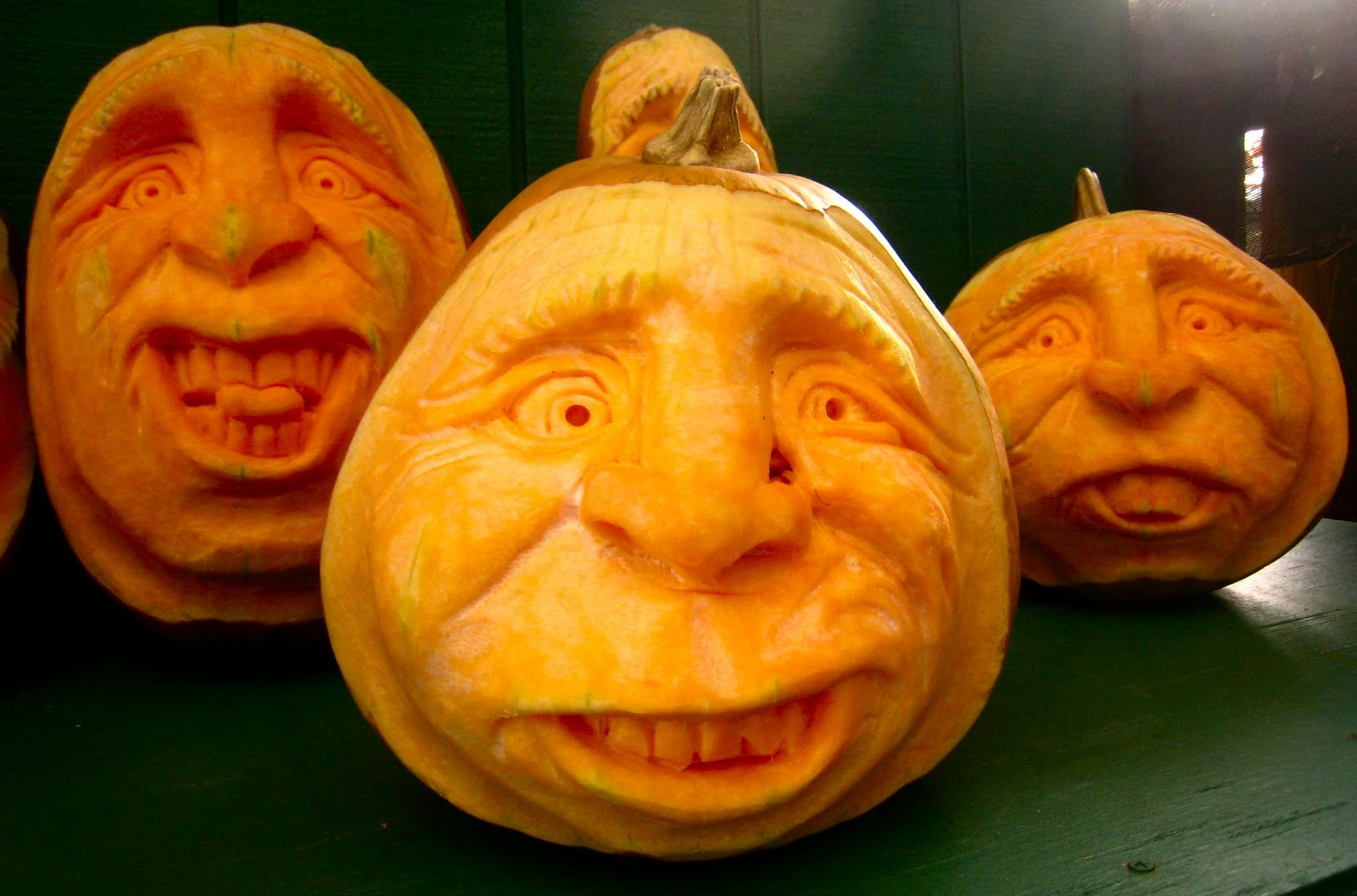 Pumpkin Faces 2011